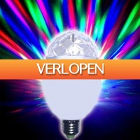 Gadgetknaller: LED-kleuren draailamp