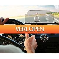DealDigger.nl: HUD navigatiedisplay