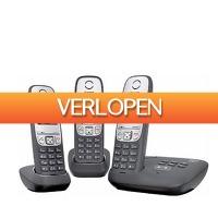 Wehkamp Dagdeal: Gigaset A415 A Trio dect telefoon