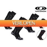 iBOOD Sports & Fashion: 3 x Salomon Impact skisokken