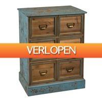 Xenos.nl: Apothekerskast met 6 laden