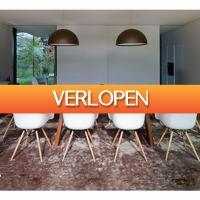 Koopjedeal.nl 2: Trendy eetkamer kuipstoelen