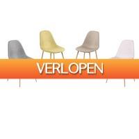 ActieVandeDag.nl 2: Set van 4 eetkamerstoelen