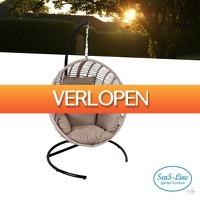 Wilpe.com - Outdoor: SenS-Line Dusty Relax hangstoel