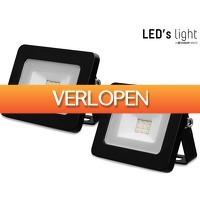 iBOOD DIY: 2 x LED's Light LED floodlight