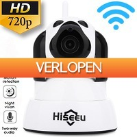 Uitbieden.nl: WiFi 720P IP camera met Night Vision