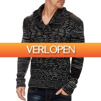 Brandeal.nl Casual: Tazzio sweater met knopen