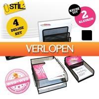 voorHAAR.nl: 4 x overzichtelijke bureau organizer set
