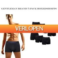 Dealwizard.nl: 7-pack Gentleman Brand  boxershorts
