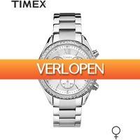 Dailywatchclub.nl: Timex Miami Silver herenhorloge