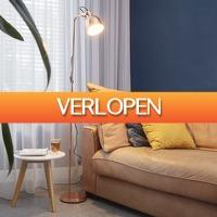 HomeHaves.com: Stijlvolle vloerlamp koper