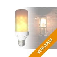 LED-lamp met vuursimulatie