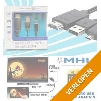 MHL S3/S4/Note 3/4 micro-HDMI adapter