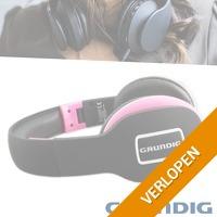 Grundig Bluetooth koptelefoon Pink Edition