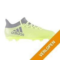 Adidas X 17.2 FG gele voetbalschoen