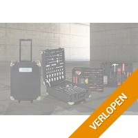 320-delige gereedschapstrolley van Wolfgang Germany