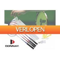 Pricestunter.nl: Donnay badmintonset met net