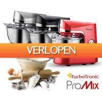 Voordeelvanger.nl 2: Turbotronic Pro Mix Stand mixer
