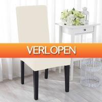 6deals.nl: Elastische stoelhoezen
