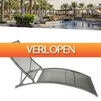 Wilpe.com - Outdoor: Design lounger ligbed