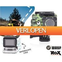 1DayFly: Waspcam 4K action cam met waterproof case