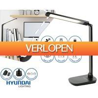 1Dayfly Extreme: Hyundai LED bureaulamp en laadstation