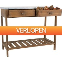 Leenbakker.nl: Sidetable antique look