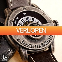 Watch2day.nl: Joshua & Sons Combos Einzeigers JX116
