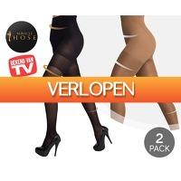 Voordeelvanger.nl 2: 2 x Miracle Hose Push Up panty's