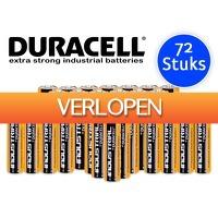 DealDonkey.com: 72 x Duracell Industrial batterijen