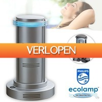 Wilpe.com - Home & Living: Philips Ecolamp luchtzuiveraar