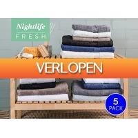 DealDonkey.com: Nightlife Fresh handdoeken 5 stuks