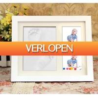 Gadgetsgift.nl: Baby fotolijst met voetafdruk