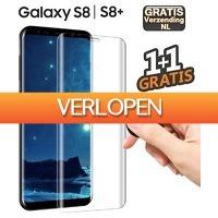 KoopjeNU: 2 x Samsung S8/S8+ tempered glass screenprotector