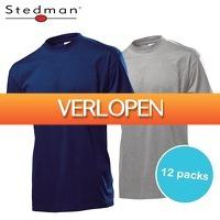 Elkedagietsleuks HomeandLive: 12-pack Stedman T-shirts