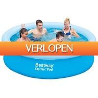 Stuntwinkel.nl: Bestway Fast Rond Marin zwembad