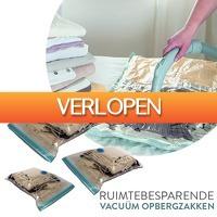 DealDigger.nl 2: Ruimtebesparende vacum opbergzakken