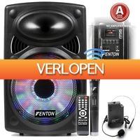 MaxiAxi.com: Fenton FPS15 mobiele geluidsinstallatie