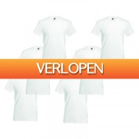 TipTopDeal.nl: 6-pack Fruit of the Loom T-shirts