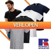 Euroknaller.nl: 10-pack Russell slim-fit T-shirts