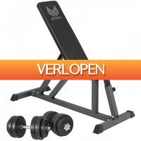 Befit2day.nl: Gyronetics fitnessbank incl. dumbells
