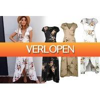 VoucherVandaag.nl: Boho V-neck dress