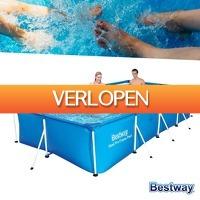 Wilpe.com - Outdoor: Bestway zwembad 400 x 211 x 81 cm