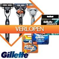 Euroknaller.nl: 8-pack Gillette Fusion/Proglide/Mach 3 scheermesjes