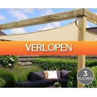 Voordeelvanger.nl 2: Groot driehoek zonnescherm