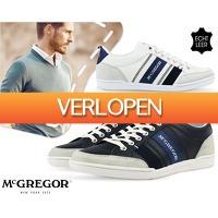 1DayFly Outdoor: Leren McHregor herensneakers