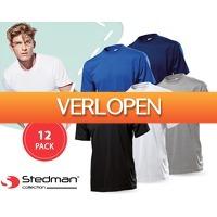 1DayFly Sale: 12-pack Stedman basic T-shirts