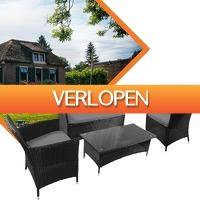 Euroknaller.nl: 7-delige Jamaican Design loungeset