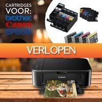 DealDigger.nl 2: Cartridges voor Canon, Epson en Brother