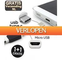 KoopjeNU: Micro-USB naar Type-C adapter